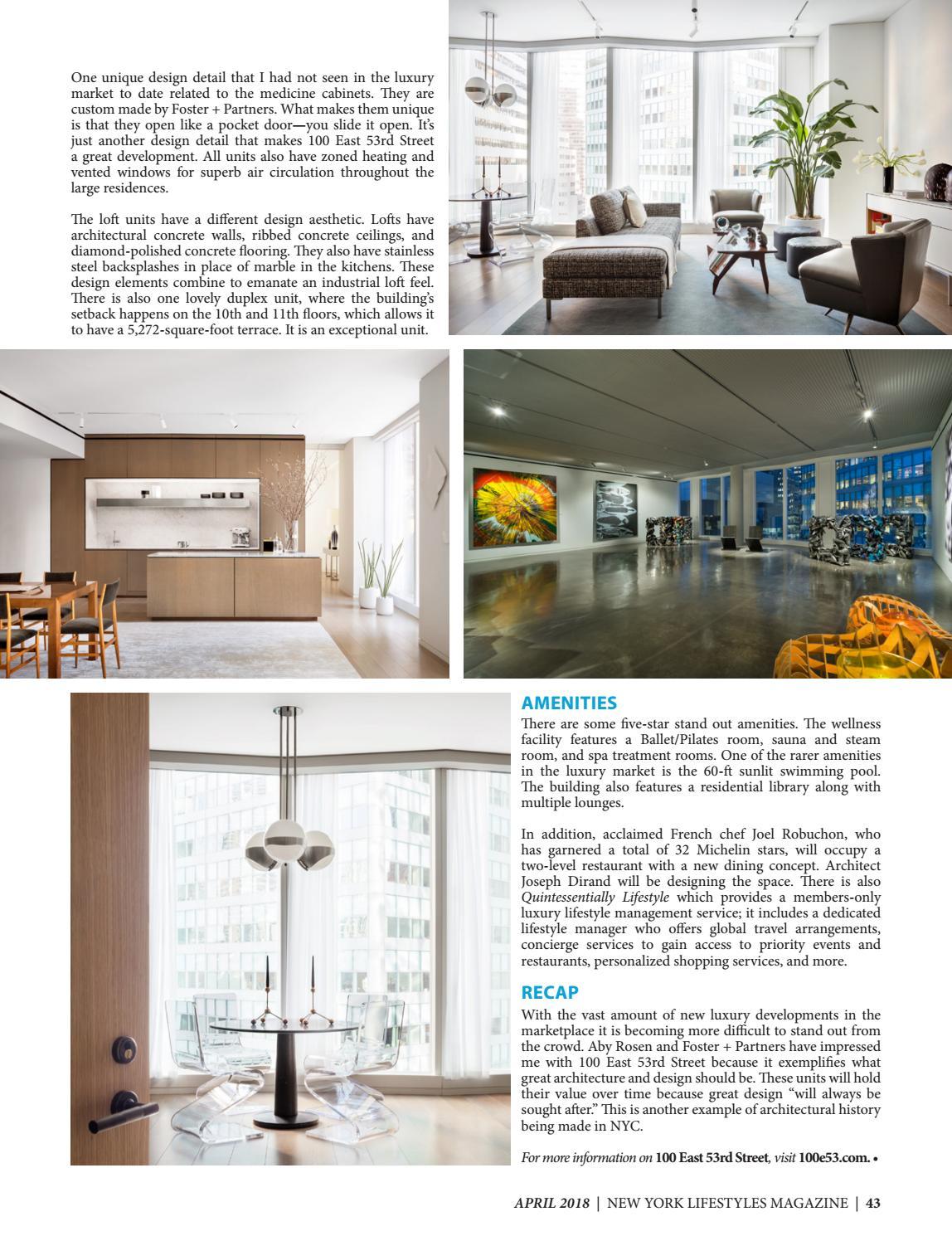 New York Lifestyles Magazine - April 2018 by New York Lifestyles