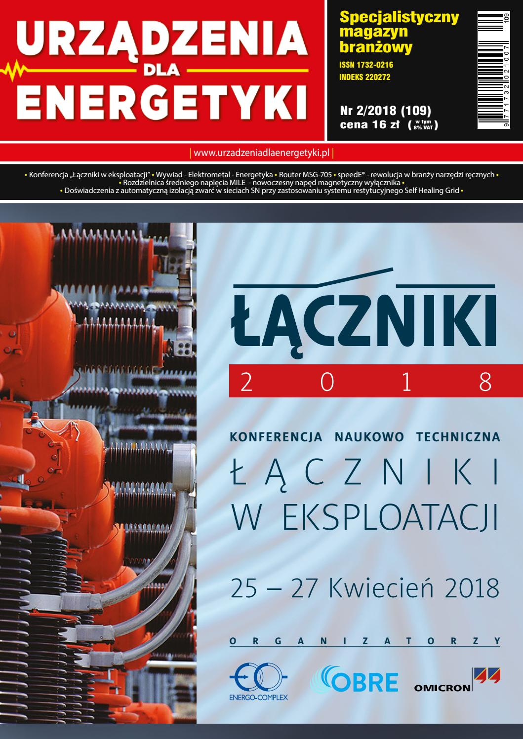 964166d639d4fe Urządzenia dla Energetyki nr 2/2018 by Urządzenia dla Energetyki - issuu
