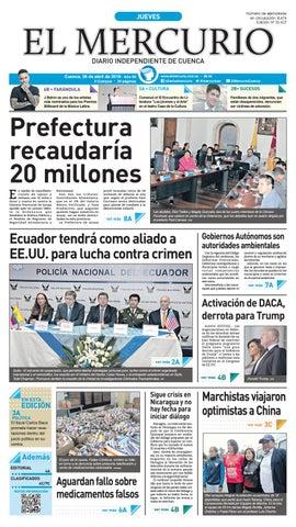 80b06e46449f hemeroteca 19-04-2018 by Diario El Mercurio Cuenca - issuu