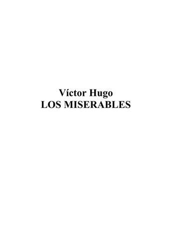 a098b7e29359 Víctor hugo los miserables by Jacqueline Bonifacio - issuu