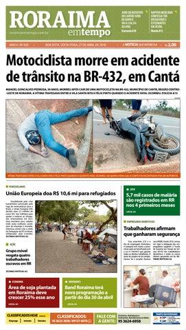 43b2d59b3a Jornal roraima em tempo – edição 920 by RoraimaEmTempo - issuu