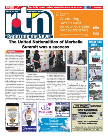 bc65473e45b9c RTN Newspaper – Costa del Sol 27 April - 3 May 2018 Issue 052 by ...