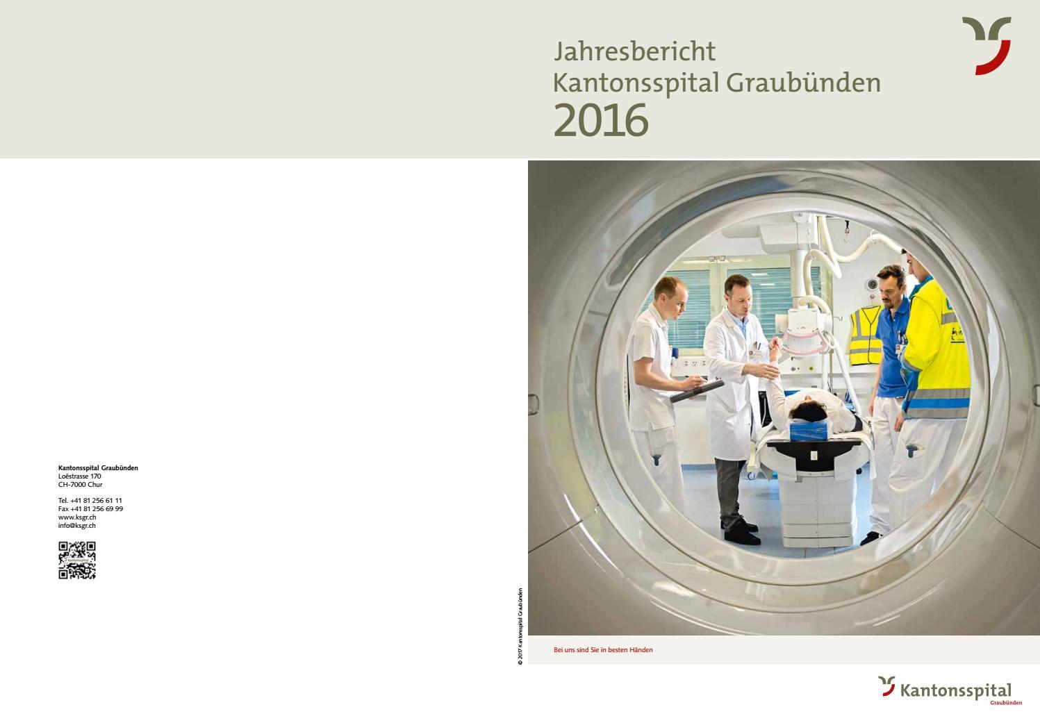 Jahresbericht KSGR 2016 by KSGR - issuu