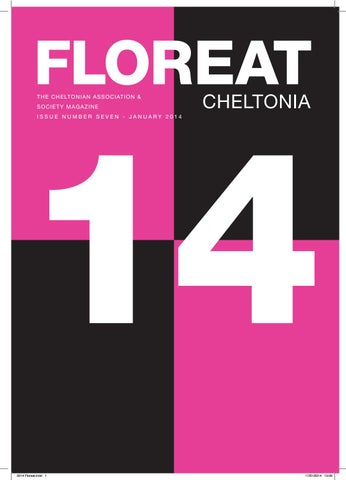 81bb9defe Floreat 2014. The Cheltonian Society Magazine with articles from ...