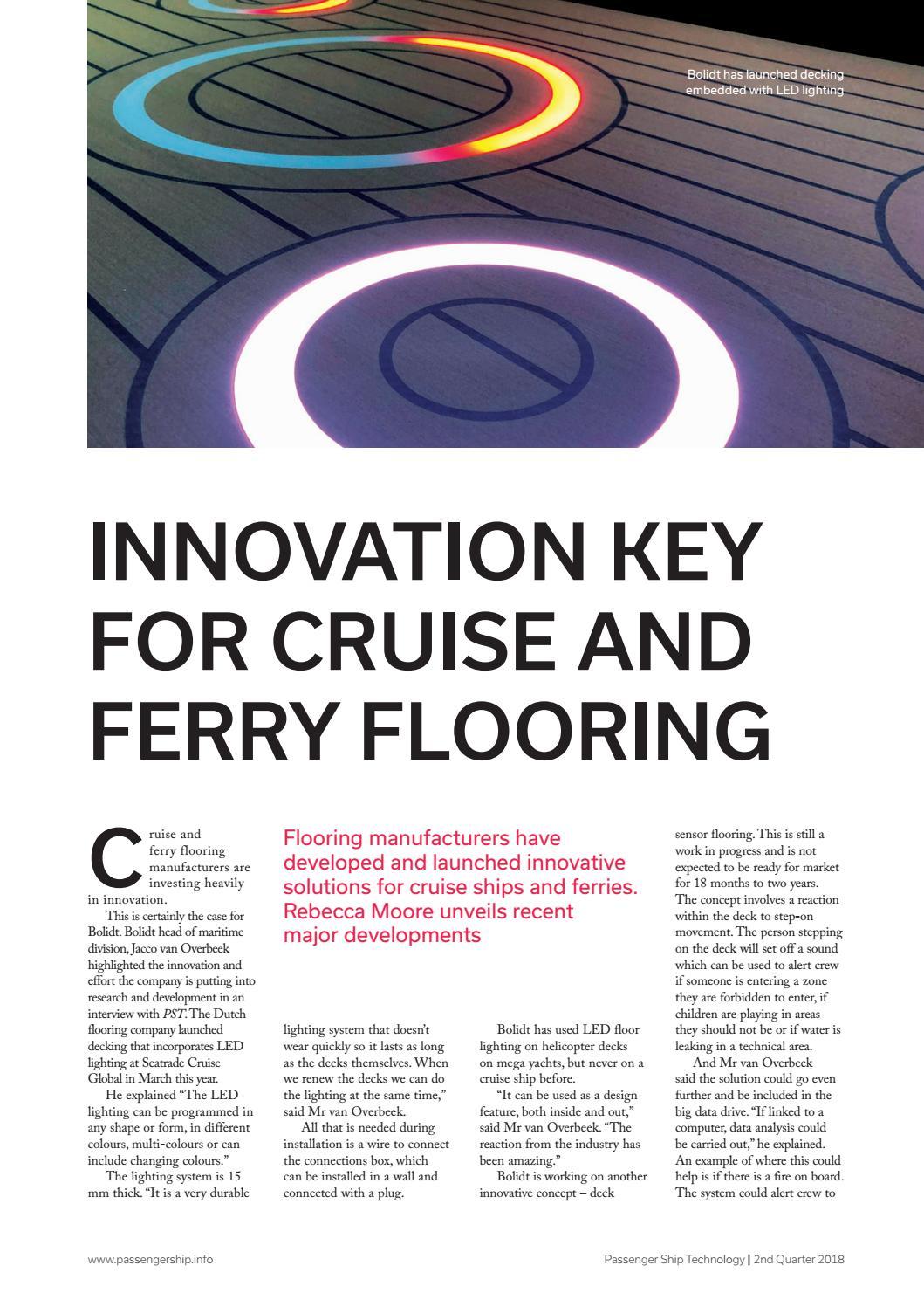 Passenger Ship Technology 2nd Quarter 2018 by rivieramaritimemedia