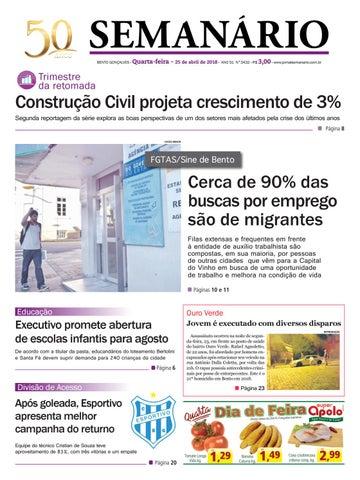 3e5f69cfa7bef Jornal Semanário - 17 de janeiro de 2018 - Ano 51 - Nº 3404 by ...