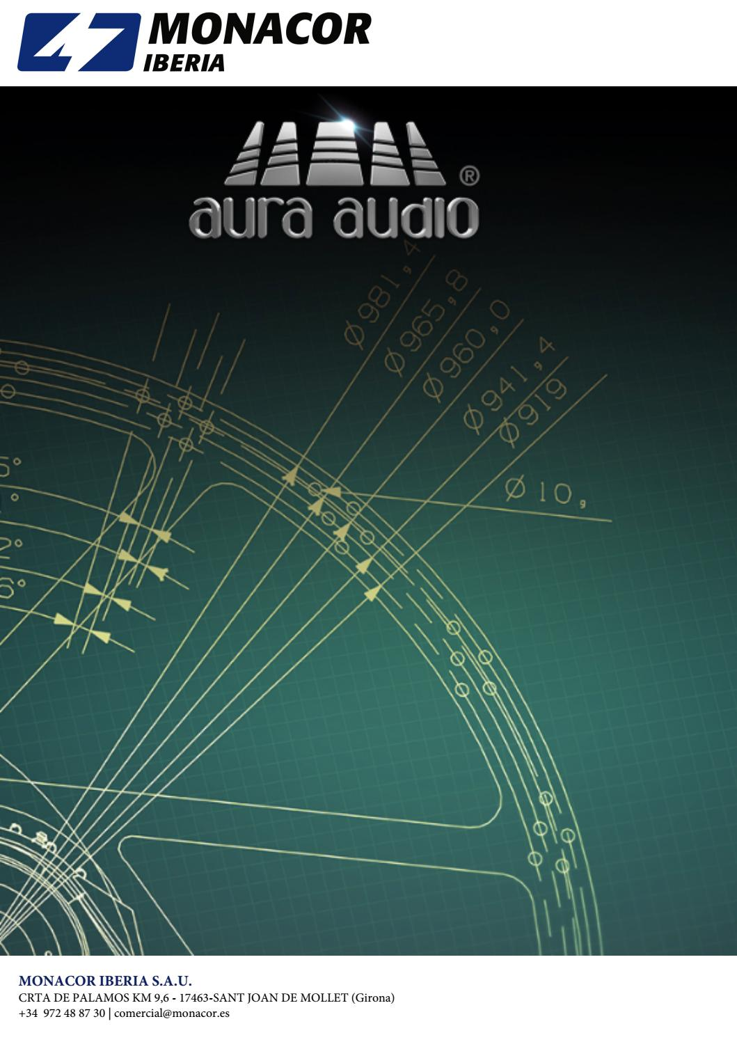 Catlogo Aura Audio By Fernando Martins Issuu Subwoofer Filter Crossover 11 90 Hz Frequency Circuit Free Picture
