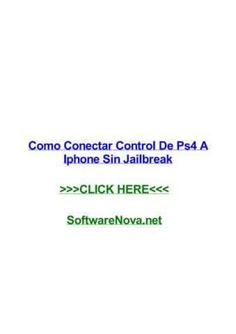 Como conectar control de ps4 a iphone sin jailbreak by sandrarjwo ...