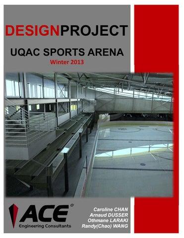 Design Project _ UQAC Sports Arena by Othmane Laraki - issuu