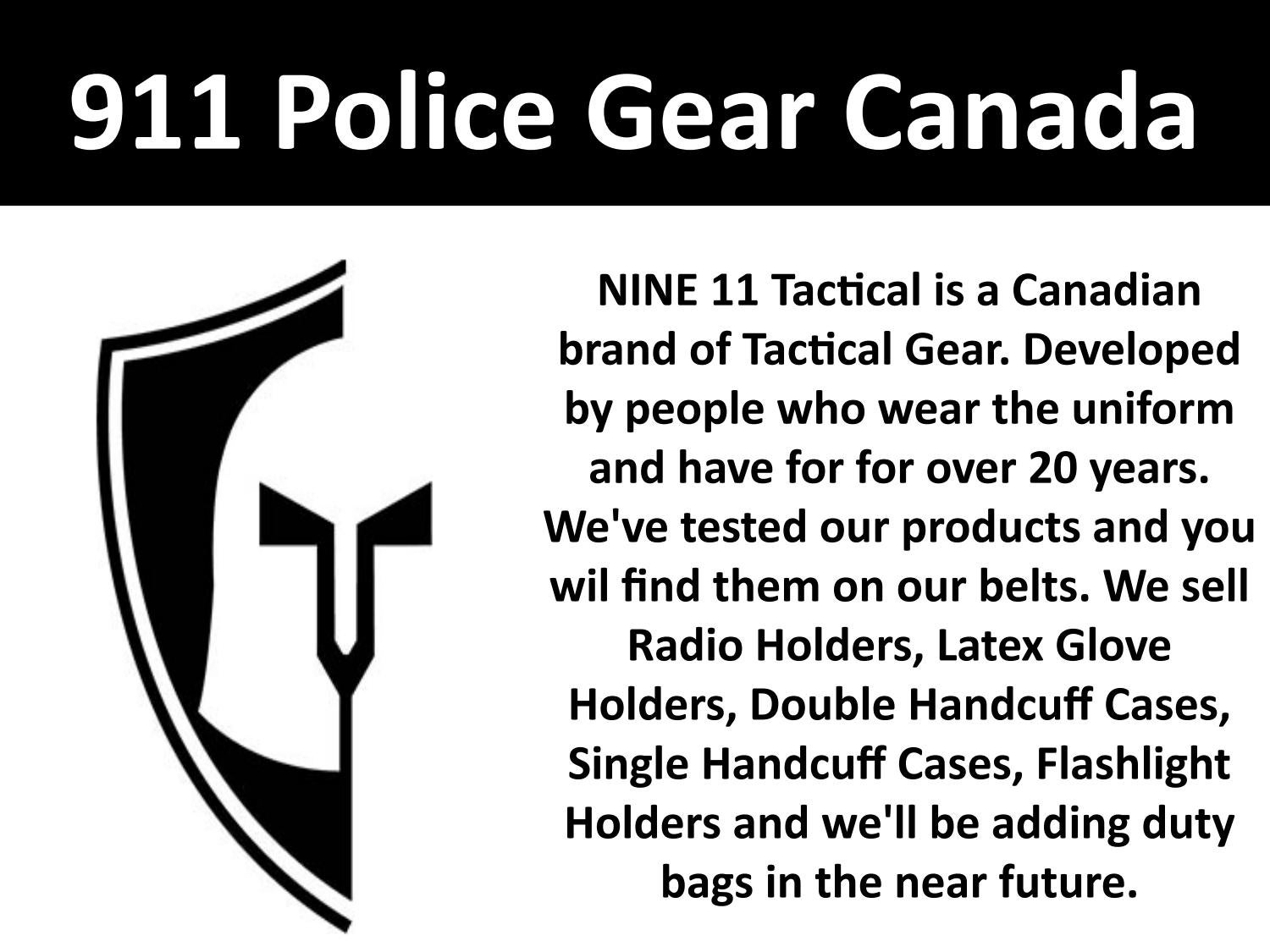 911 Police Gear Canada By Garry