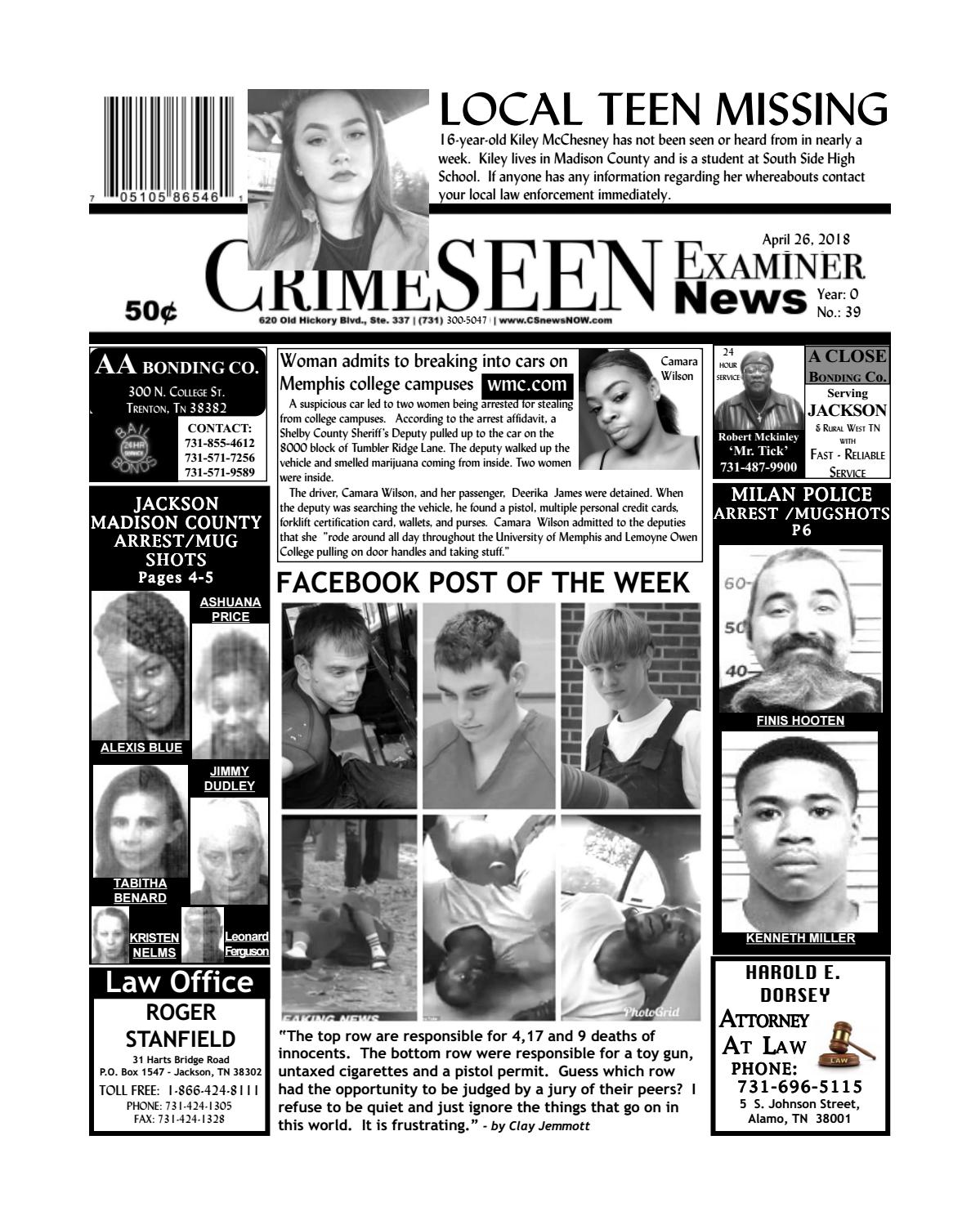 Cse News April 26 2018 By Crimeseen Examiner Issuu