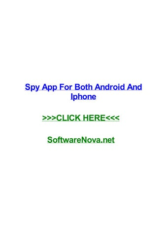 Spy app for both android and iphone by darrenthtgf - issuu