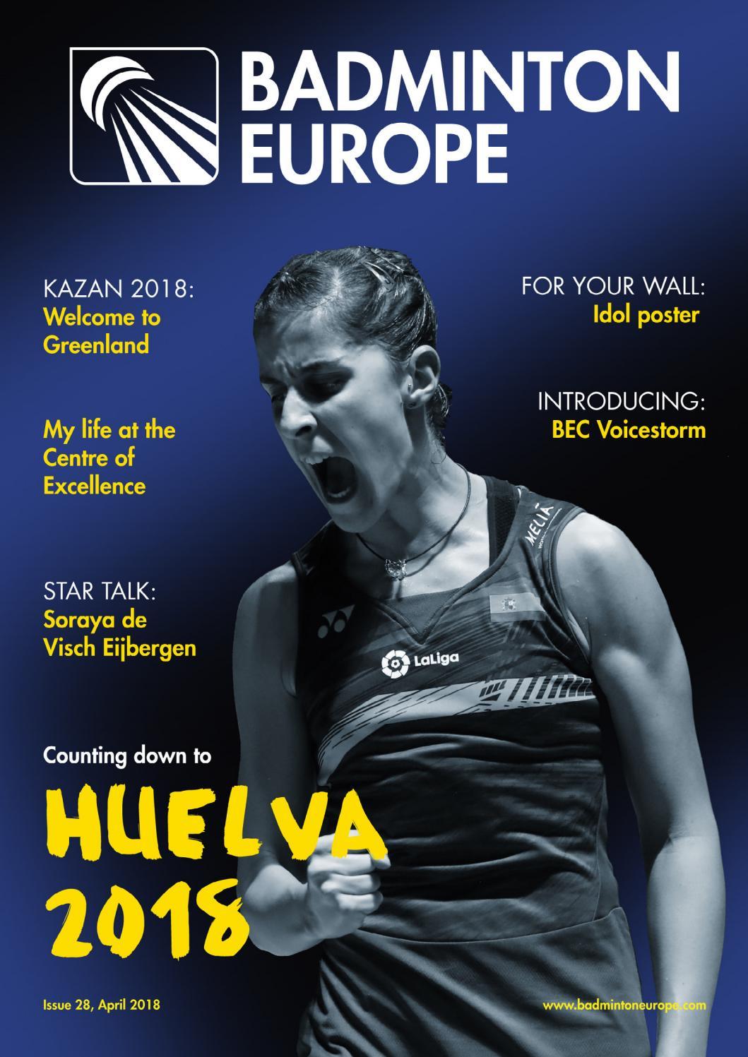 Badminton Europe Magazine issue 27   April 2018 by Badminton Europe - issuu 9b933aae87