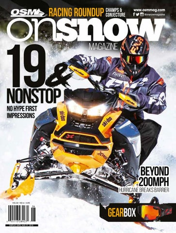OSM Canada 32 6 by On Snow Magazine - ATV World Magazine - issuu