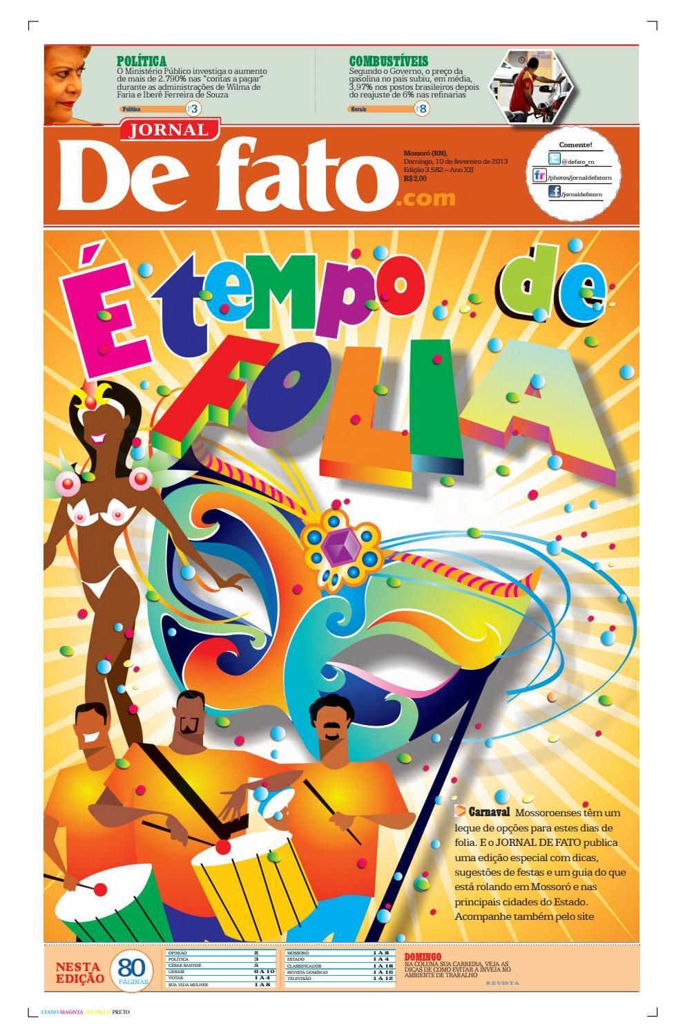 Jornal de Fato Nº 3.582 by Portal Academia do Samba - issuu 78a157737b859