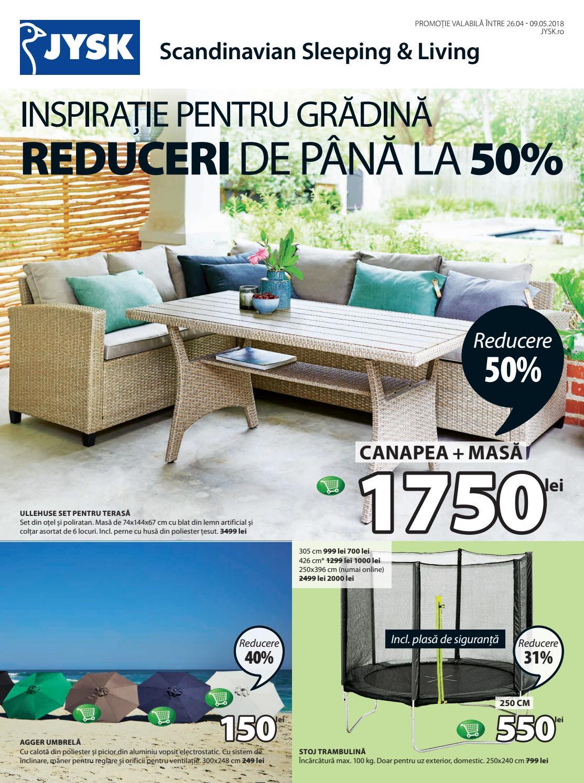 ieftin de vânzare oferte grozave Cumpără Catalog Jysk - Inspiratie pentru gradina (26 Aprilie - 9 Mai 2018 ...