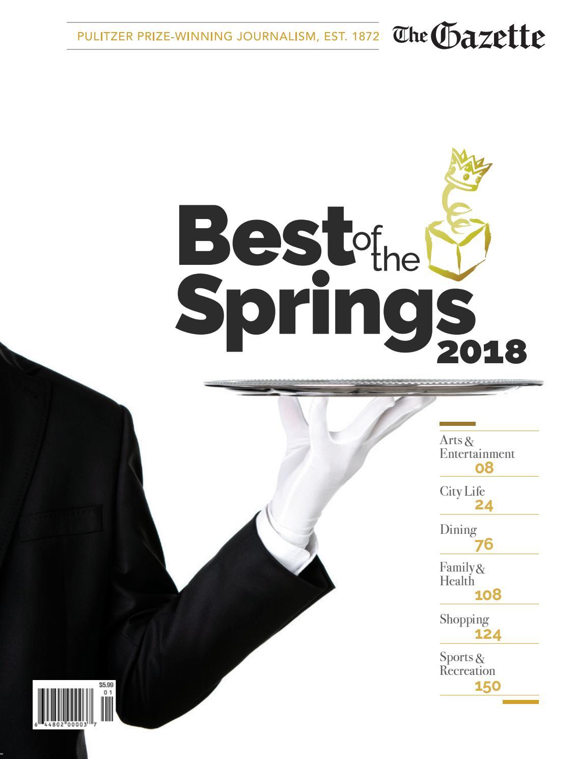 2018 Best of the Springs by Colorado Springs Gazette, LLC - issuu