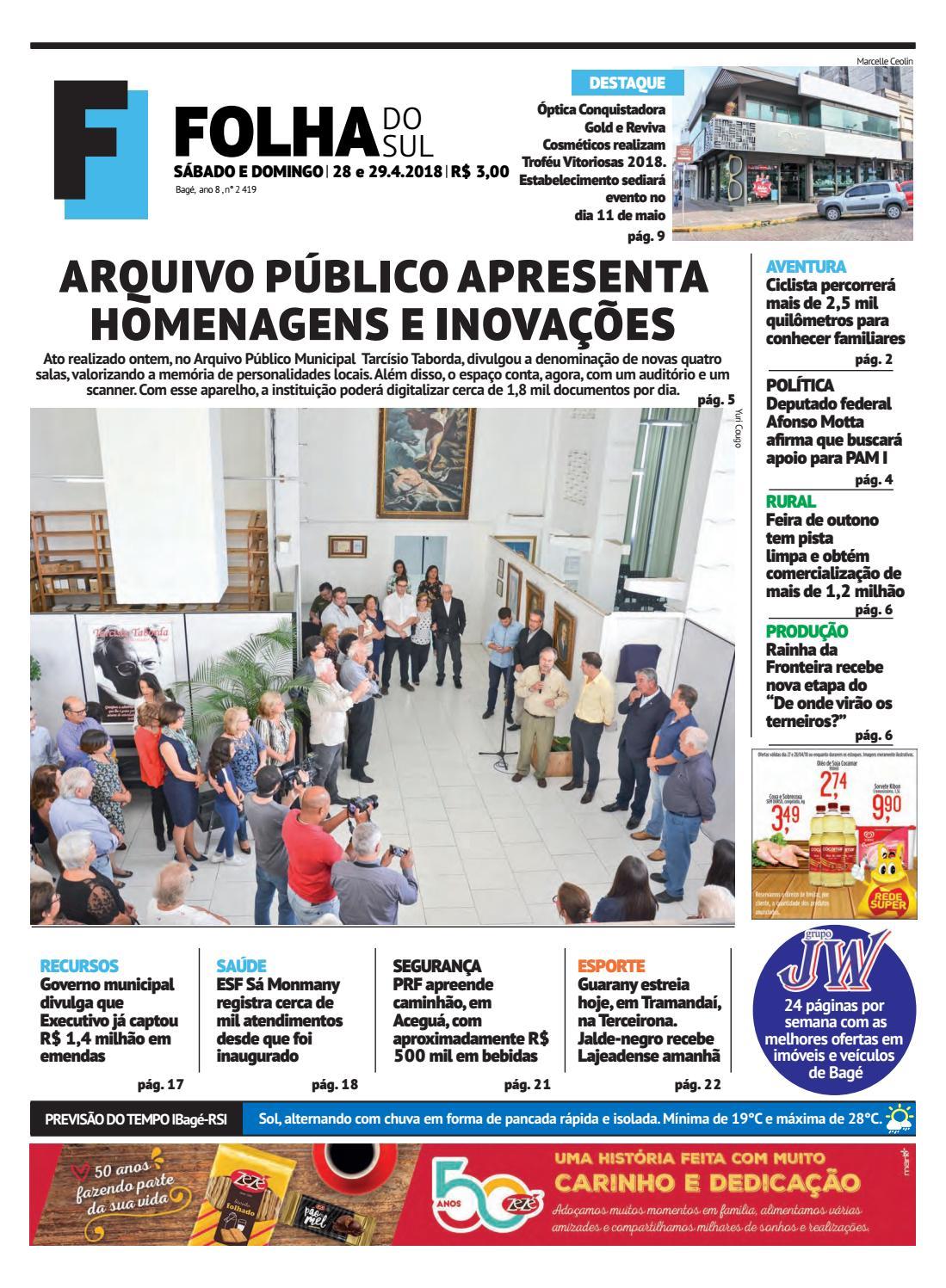 Jornal Folha do Sul, 28 e 29 de abril de 2018 by Folha do Sul Gaúcho - issuu 1c65bdb922