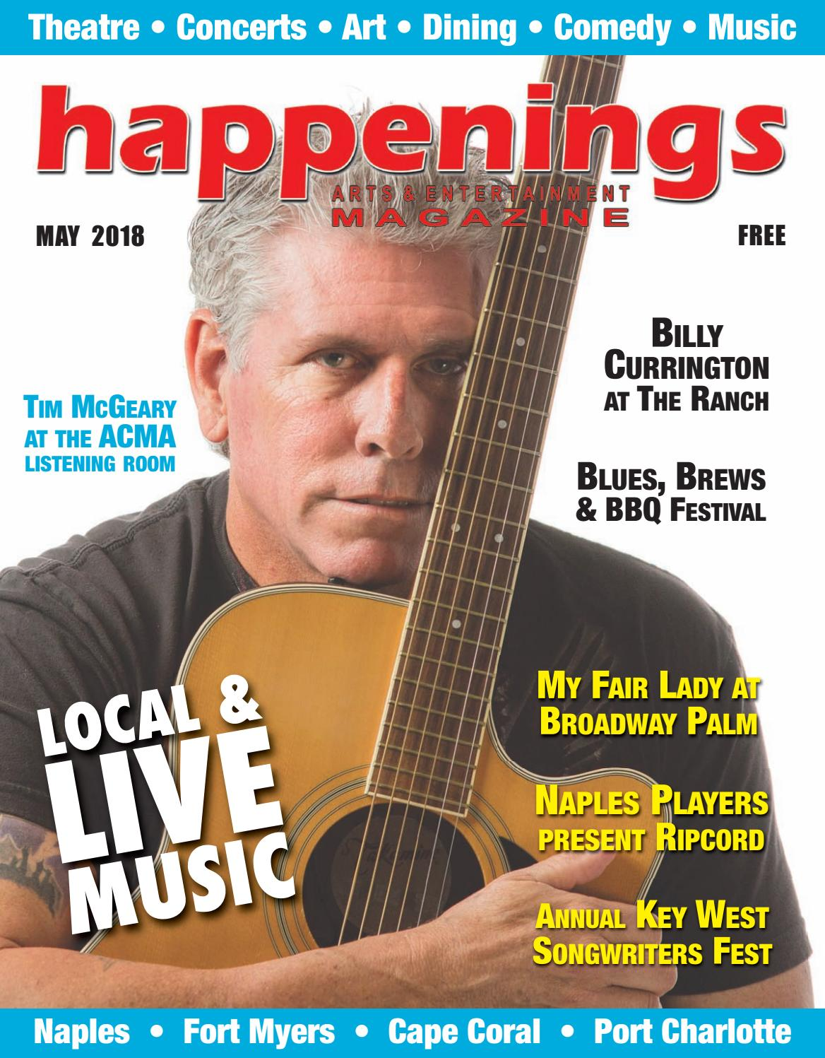 May 2018 Happenings Magazine By Sw Fl Happenings Magazine Issuu