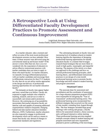 Page 59 of A Retrospective Look at Using Differentiated Faculty Development Practices to Promote Assessment and Continuous Improvement