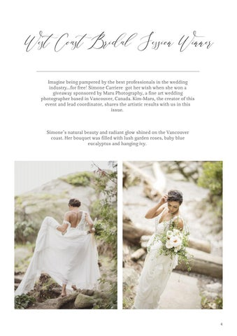 Page 5 of West Coast Bridal Sessions Winner
