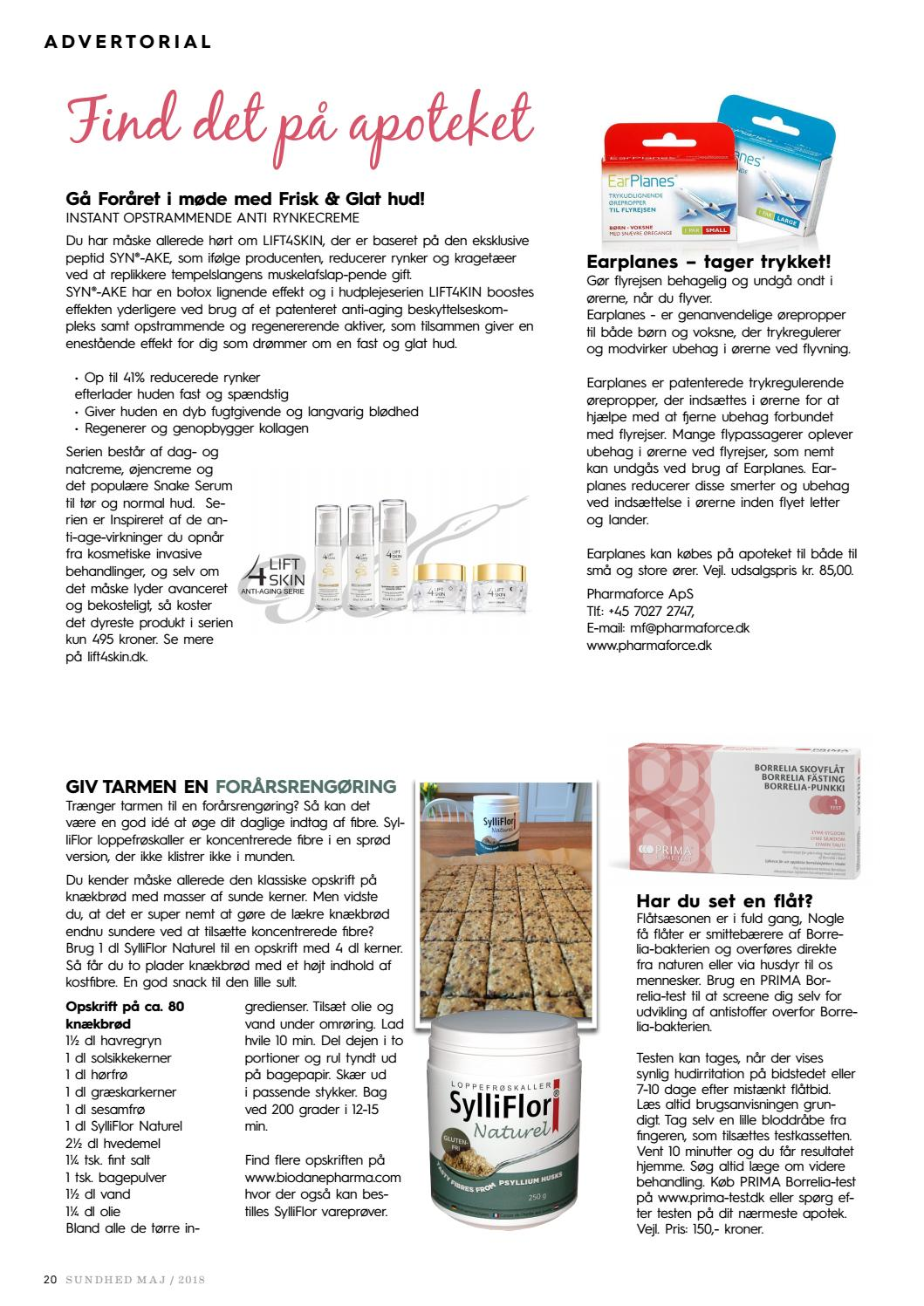 73c11e5d36e Sundhed Maj by Magasinet Sundhed - issuu