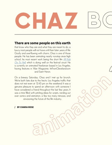 Page 6 of Chaz Bottoms: Animation as Culture