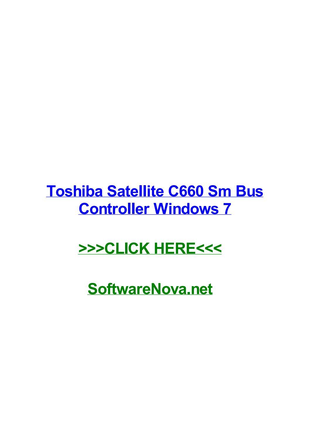 driver wifi toshiba satellite c660 windows 7 64 bits