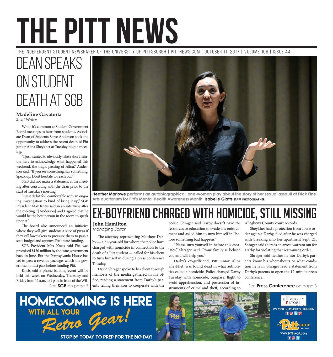 10-11-17 by The Pitt News - issuu