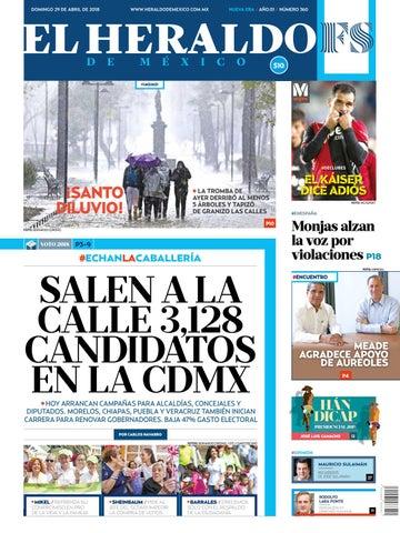 Heraldo 29 de abril by El Heraldo de México - issuu 5d909666cbfd9