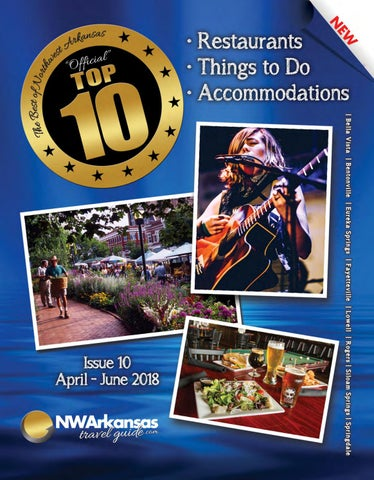 Best of Northwest Arkansas, Top 10, Issue 10