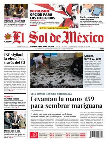 El Sol de México 29 de abril 2018 by El Sol de México - issuu