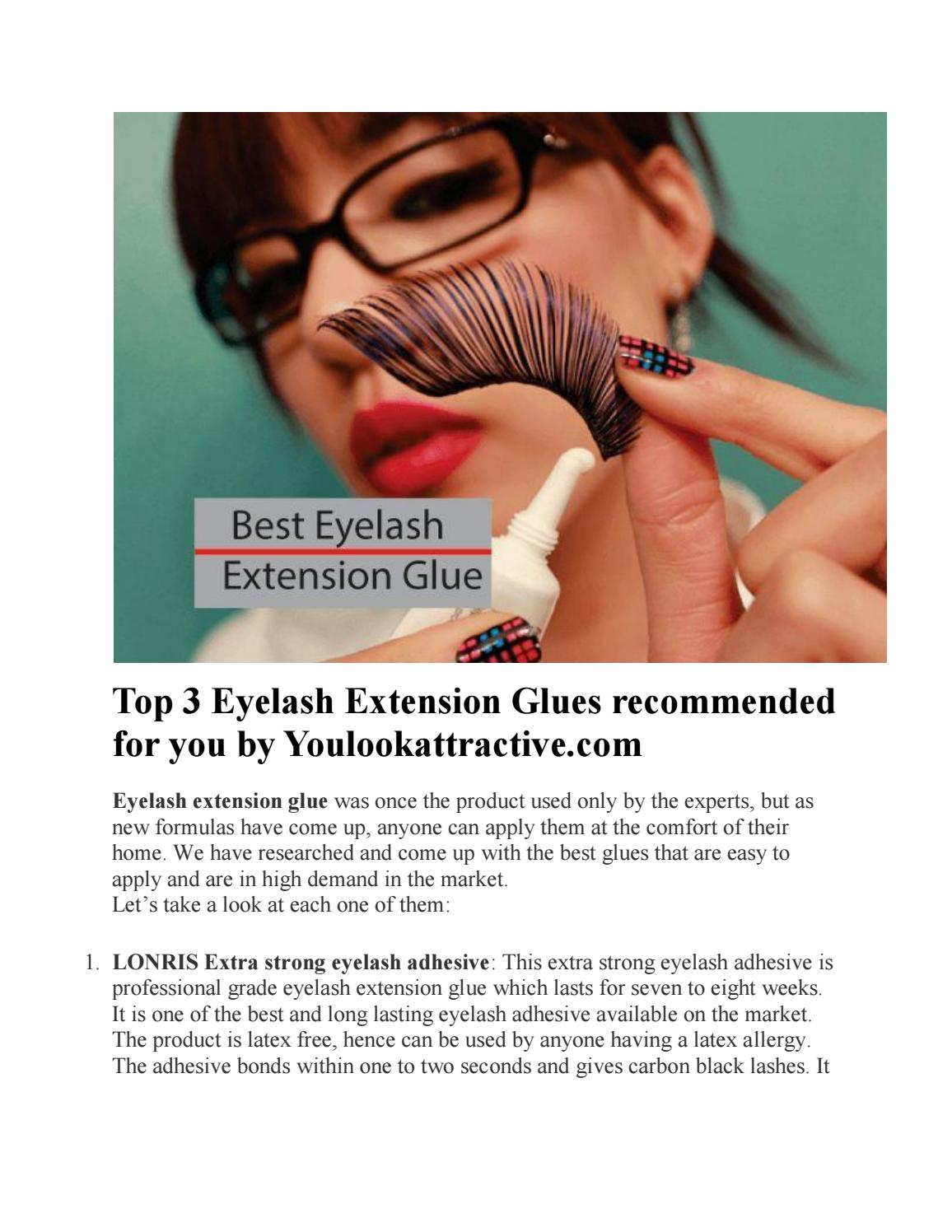 Top 3 Eyelash Extension Glues Recommended For You By