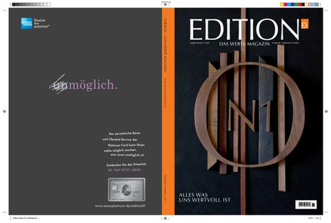 Edition magazin by premium media gmbh a company by kd group