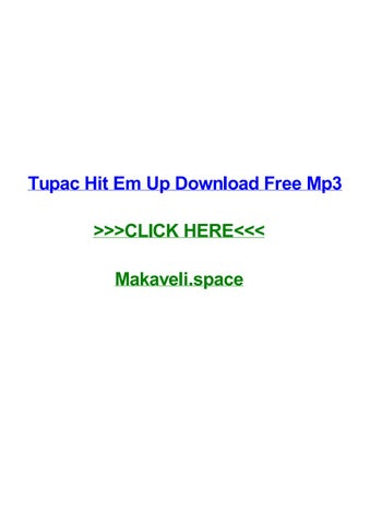 Tupac shakur i aint mad at cha mp3 download by shannontbovr issuu.