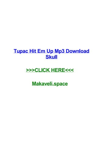 Free mp3 download tupac how do you want it by joshuaepno issuu.