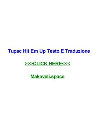 Tupac hit em up testo e traduzione by suzanneocoyg - issuu