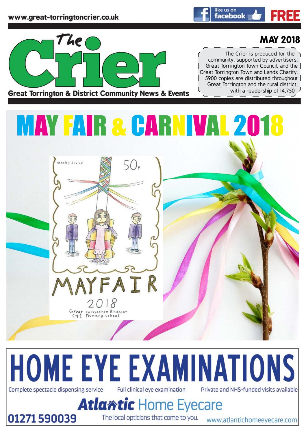 May Crier 2018 by The Torrington Crier issuu