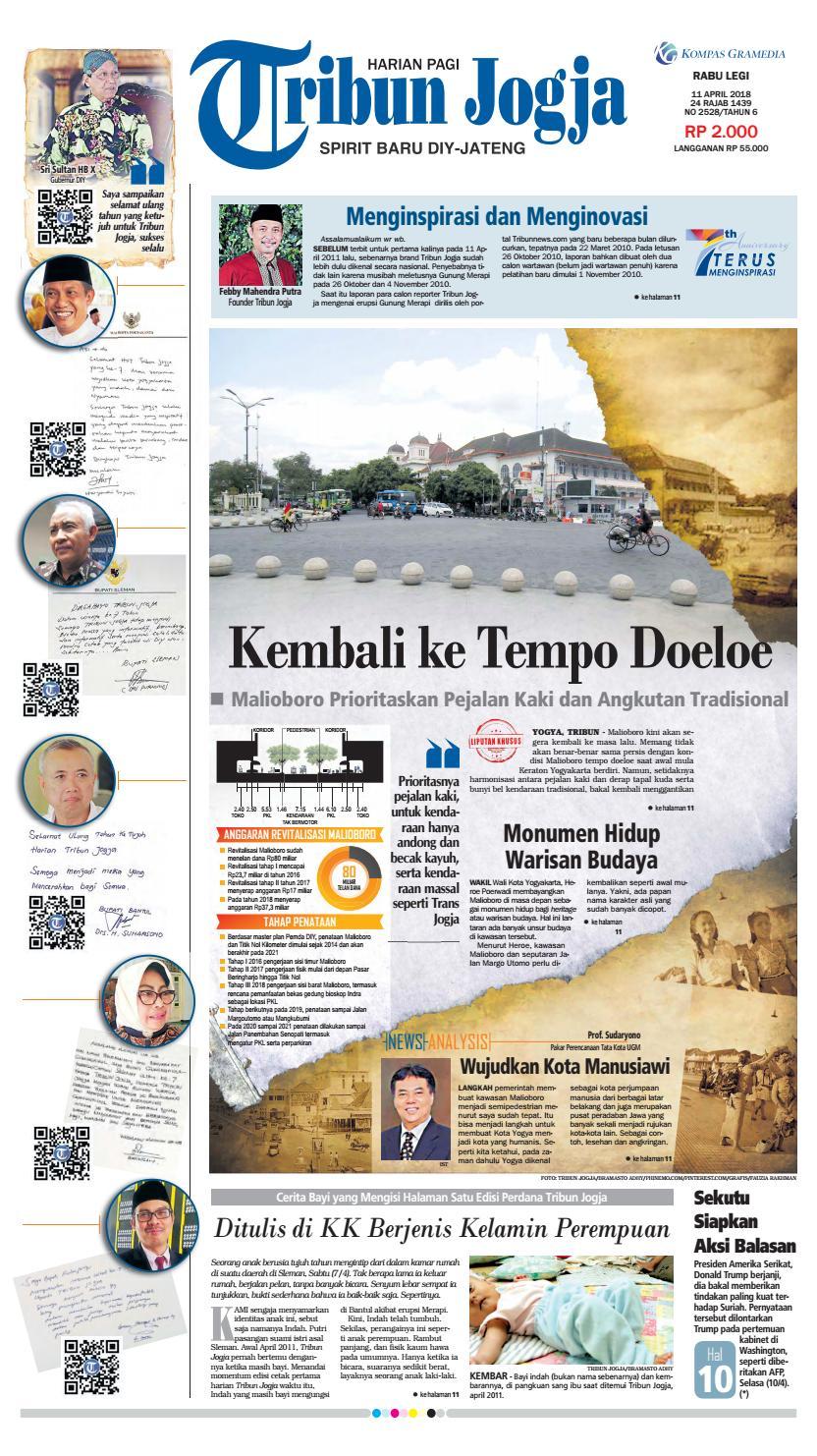 Tribunjogja 11 04 2018 By Tribun Jogja Issuu Produk Ukm Bumn Wisata Mewah Bali 3hr 2mlm