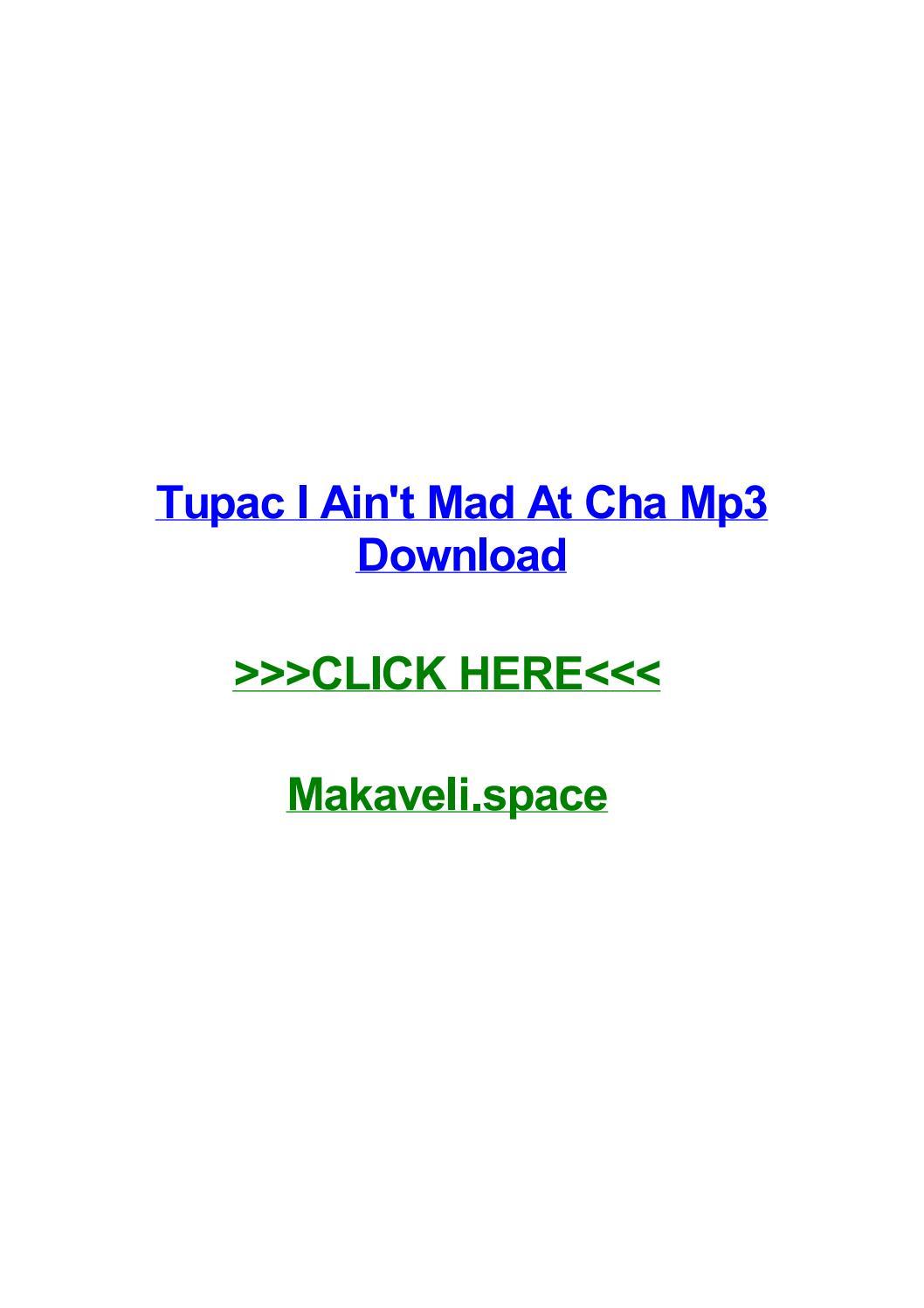 Alicia Keys If I Ain T Got You Audio Download tupac i aint mad at cha mp3 downloadkatrinadslxj - issuu