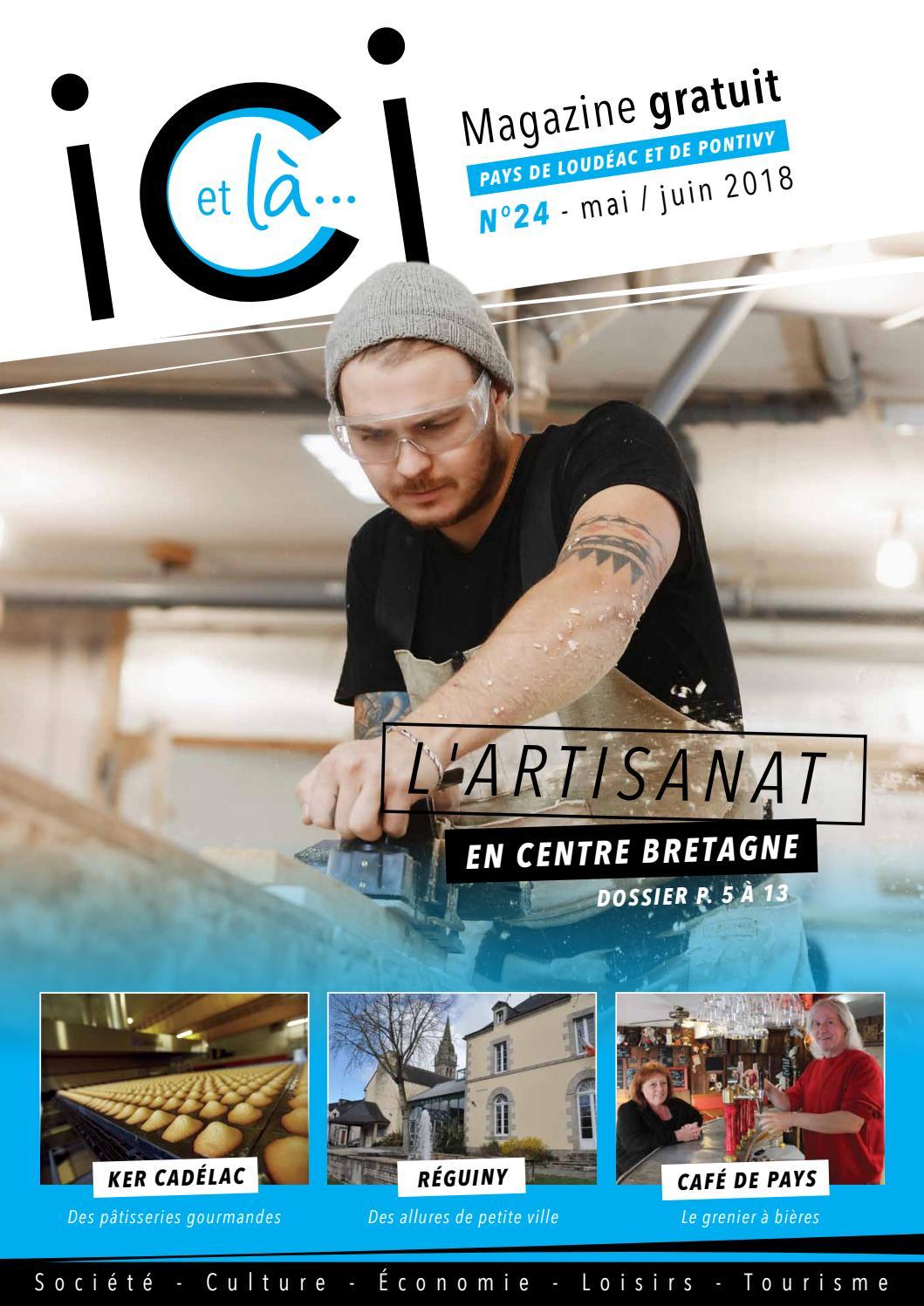 Ici et là magazine - Numéro 24 - Pays de Loudéac et de Pontivy by Ici et là  magazine - issuu