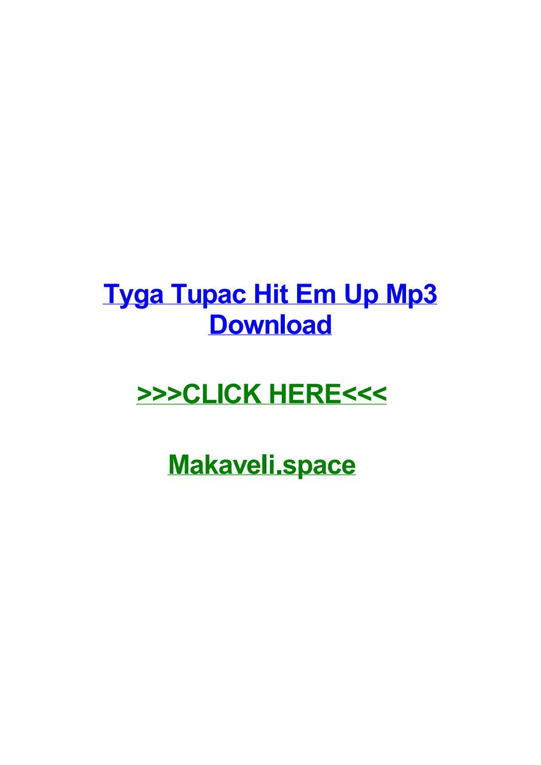 Tyga tupac hit em up mp3 download