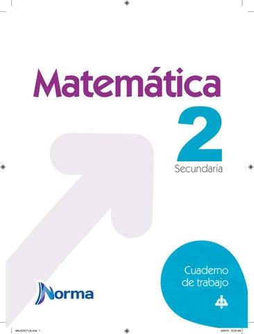 Cuaderno de trabajo matematica 2 by xumel9 - issuu
