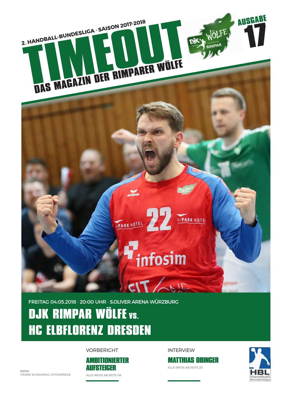 2017/18 // HC ELBFLORENZ DRESDEN // TimeOut 17 by DJK Rimpar Wölfe ...