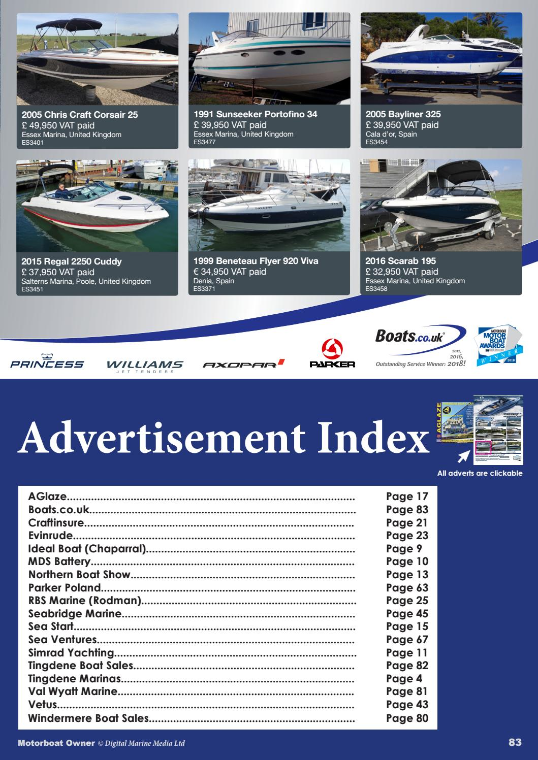 Motorboat Owner May 2018 by Digital Marine Media Ltd - issuu