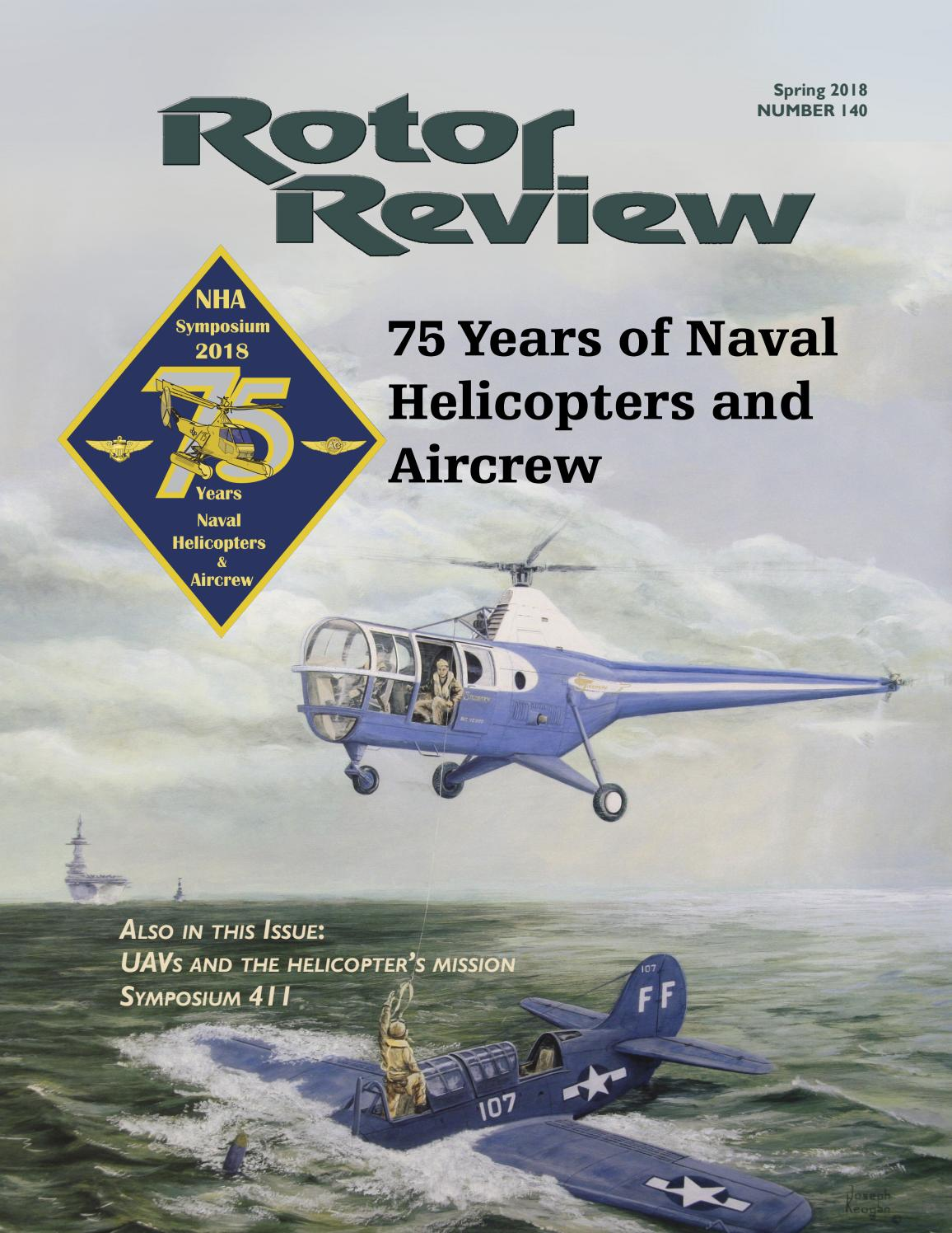 98552dbd437 Rotor Review  140 Spring 2018 by Naval Helicopter Association