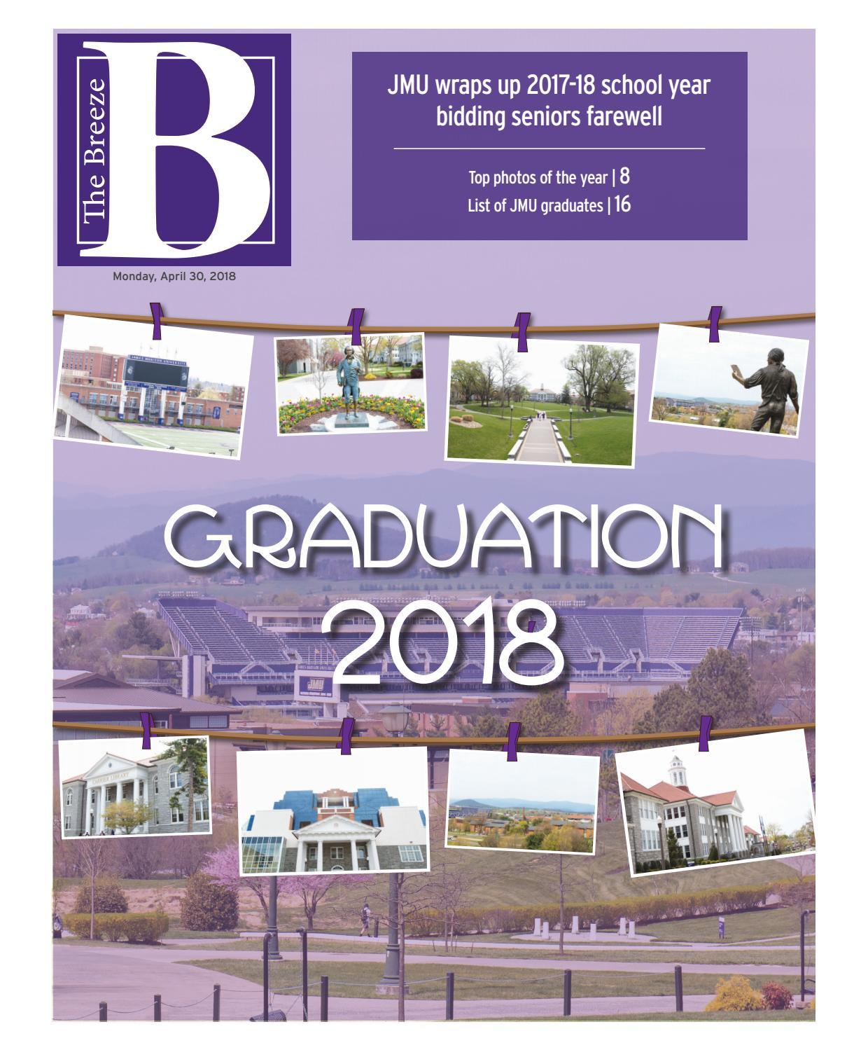 The Breezes Graduation Supplement 04302018 By Breeze