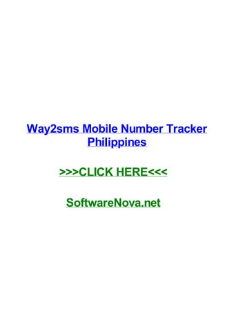 Way2sms mobile number tracker philippines by kenqvmfm - issuu