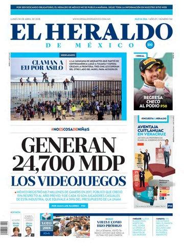 a118b2bf641c4 Heraldo edición impresa by El Heraldo de México - issuu