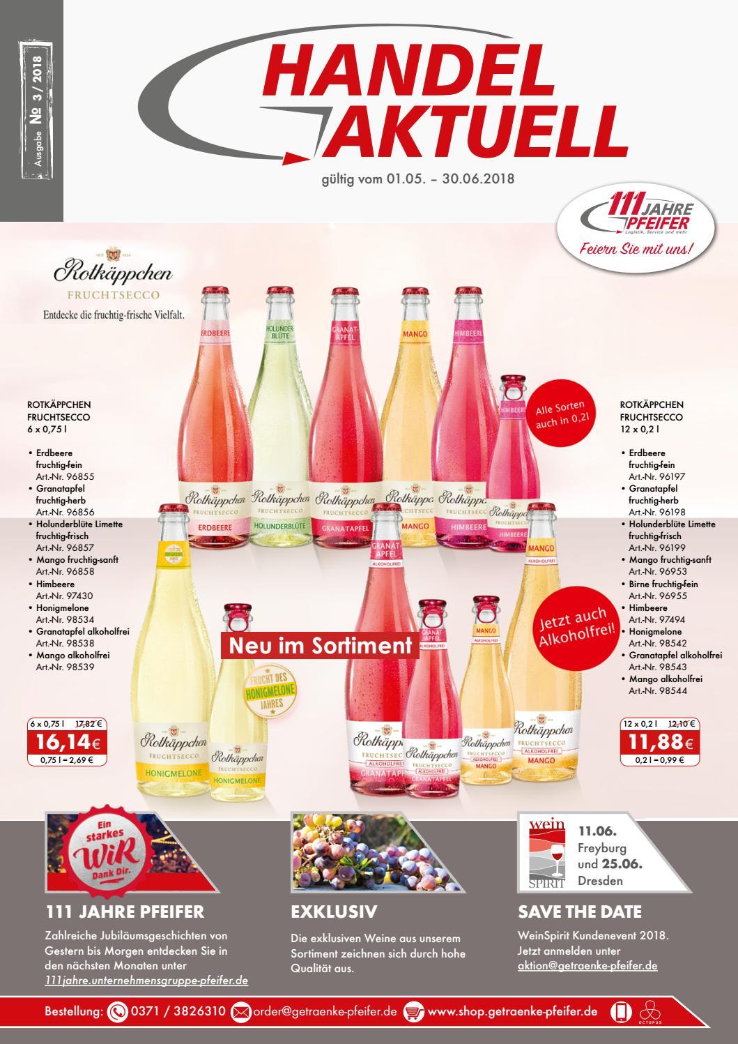 Handel Aktuell - Ausgabe 3 / 2018 by Getränke Pfeifer GmbH - issuu